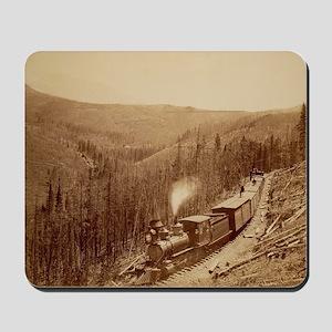 Vintage Train Photo Mousepad