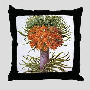 Vintage Flowers by Basilius Besler Throw Pillow