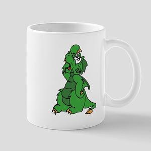 Exasperated Dragon Mugs