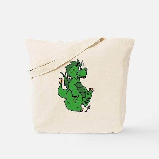 Dragon Walking Tote Bag