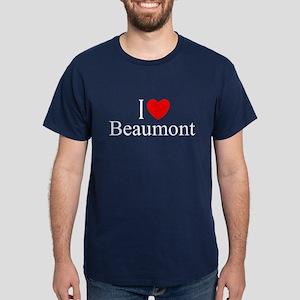 """""""I Love Beaumont"""" Dark T-Shirt"""