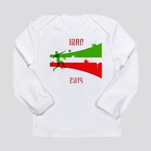 Iran World Cup 2014 Long Sleeve Infant T-Shirt