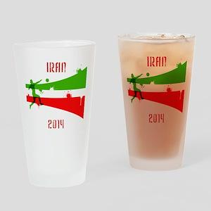 Iran World Cup 2014 Drinking Glass