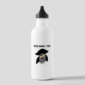 Custom Pirate Cartoon Water Bottle