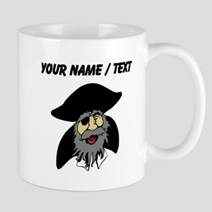 Custom Pirate Cartoon Mugs