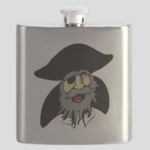 Pirate Cartoon Flask