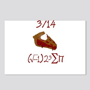 i 8 sum pi on Pie Day Postcards (Package of 8)