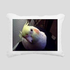 Cockatiel Magic Rectangular Canvas Pillow