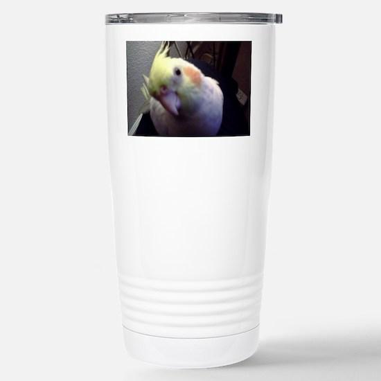 Cockatiel Magic Stainless Steel Travel Mug