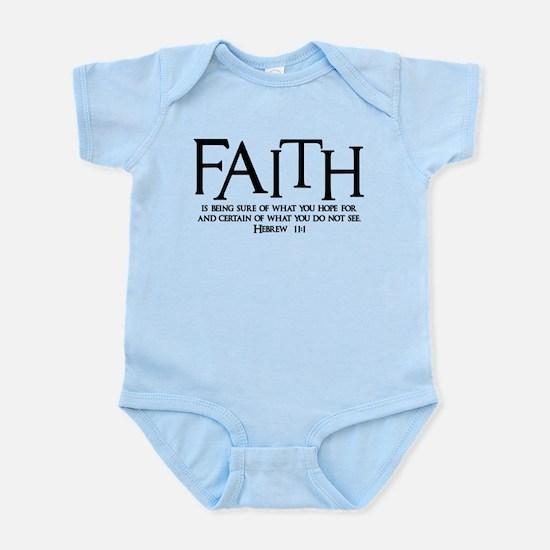 Hebrew 11:1 Infant Bodysuit