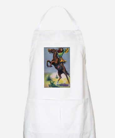 Cowgirl on Bucking Horse Apron