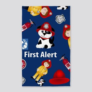 Lil Firefighter 3'x5' Area Rug