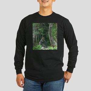 Thinking Gorilla Long Sleeve T-Shirt