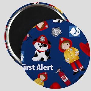 Lil Firefighter Magnet