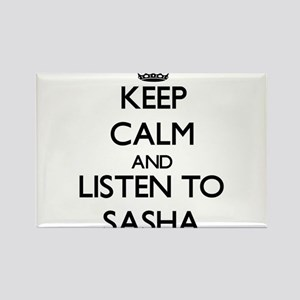 Keep Calm and listen to Sasha Magnets