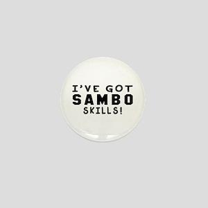 Sambo Skills Designs Mini Button