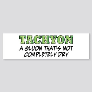 Tachyon Bumper Sticker