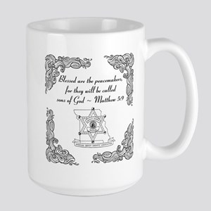 Blessed Peacemakers - Scroll Mugs