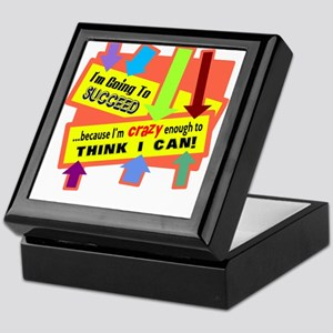Crazy Enough/t-shirt Keepsake Box