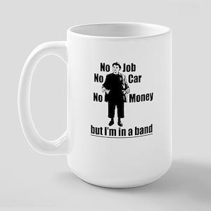 In a Band Large Mug