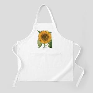 Vintage Sunflower Basilius Besler Apron