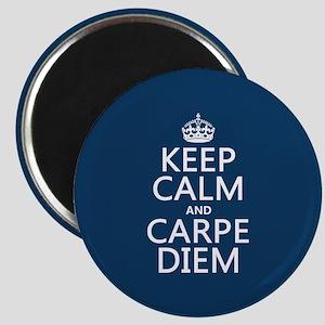 Keep Calm and Carpe Diem Magnets