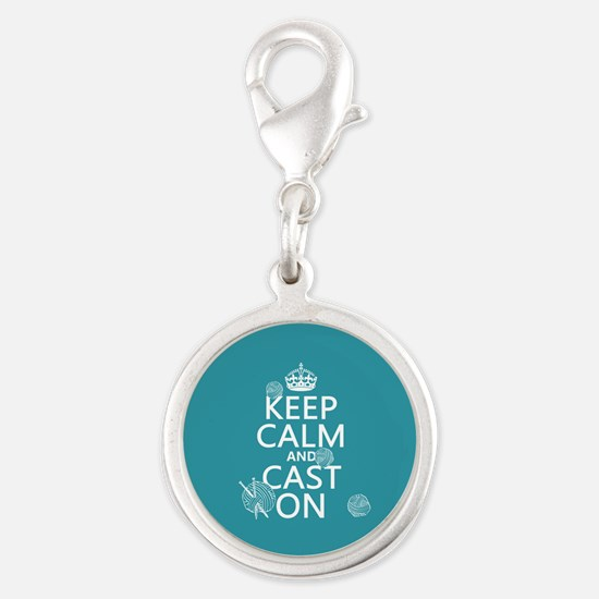 Keep Calm and Cast On Charms