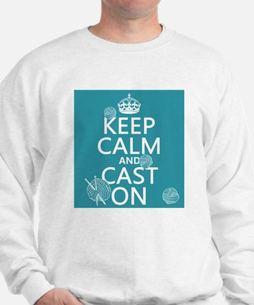 Keep Calm and Cast On Jumper