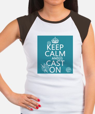 Keep Calm and Cast On T-Shirt