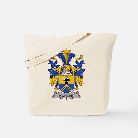 Kohler Family Crest Tote Bag