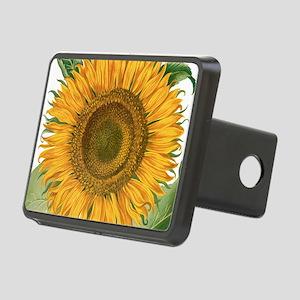 Vintage Sunflower Basilius Rectangular Hitch Cover