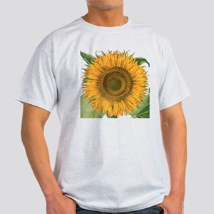 Vintage Sunflower Basilius Besler Light T-Shirt