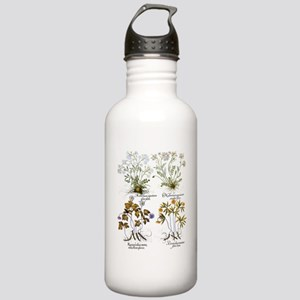 Vintage Flowers by Bas Stainless Water Bottle 1.0L
