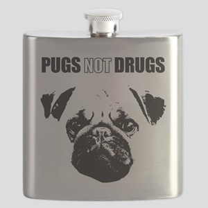 Pug Not Drugs Flask