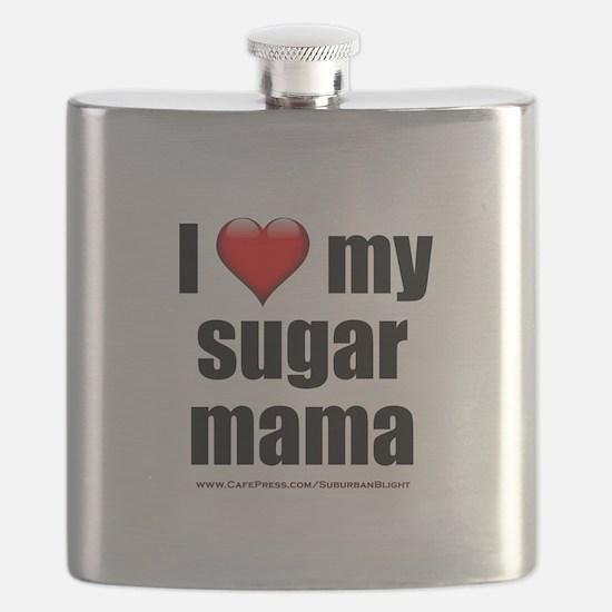 """""""Love My Sugar Mama"""" Flask"""