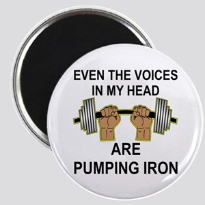Voices Are Pumping Iron Magnet