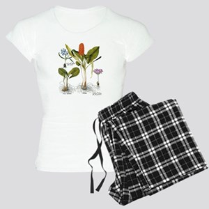Vintage Flowers by Basilius Women's Light Pajamas