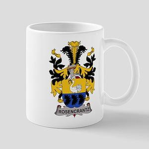 Rosencrantz Family Crest Mugs
