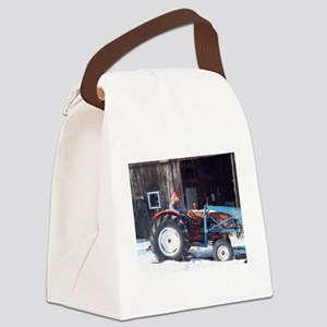 Hired Hand Rooster Canvas Lunch Bag