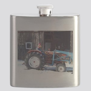 Hired Hand Rooster Flask