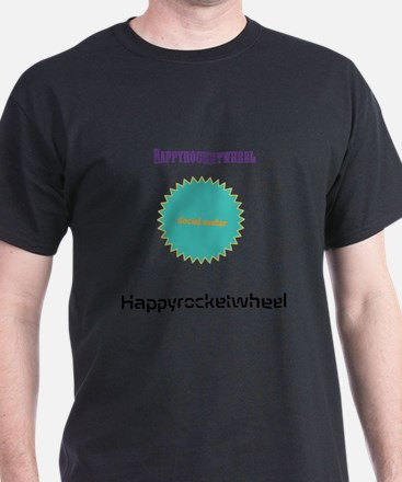 Happyrocketwheel fan shirt (Social Avatar) T-Shirt
