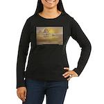 Ebb Tide Women's Long Sleeve Dark T-Shirt