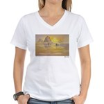 Ebb Tide Women's V-Neck T-Shirt