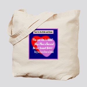 May Your Love Be Added-Wedding Toast Tote Bag