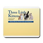 Three Little Kittens Logo Mousepad