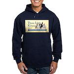 Unisex Pullover - Navy Blue Or Black Hoodie (dark)
