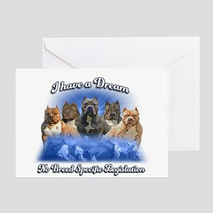 I Have A Dream No BSL Greeting Cards