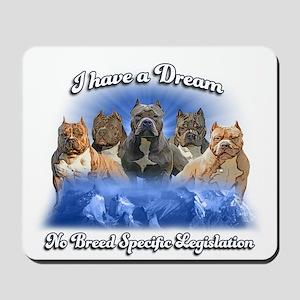 I Have A Dream No BSL Mousepad