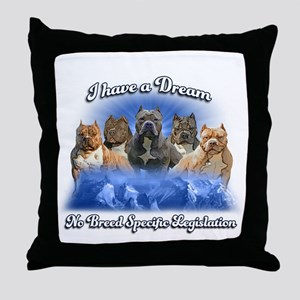 I Have A Dream No BSL Throw Pillow