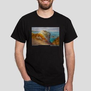 Rocks at Point Lobos Dark T-Shirt
